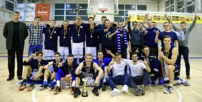 LSKL II vaikinų grupės čempionai – VGTU krepšininkai