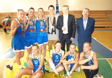 LSKL bronzos medalius apgynė Klaipėdos universiteto studentės