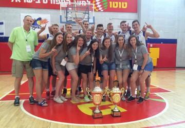 VU krepšininkai antrus metus iš eilės triumfavo Izraelyje
