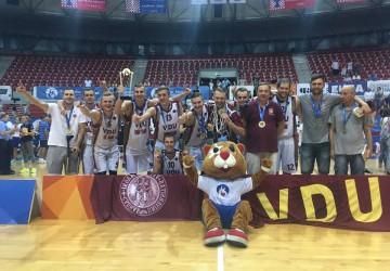 VDU krepšininkai – Europos čempionai (nuotraukos)