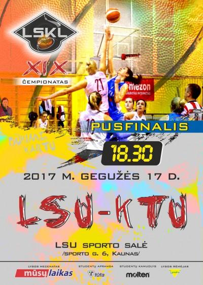 LSKL merginų grupė: paaiškėjo pusfinalio poros