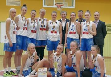 LSKL bronzos medaliai – KU merginoms (nuotraukos)