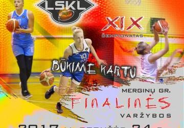 LSKL merginų didžiajame finale – LSU ir VU