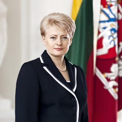 Lietuvos Respublikos Prezidentės Dalios Grybauskaitės sveikinimas universiados čempionams