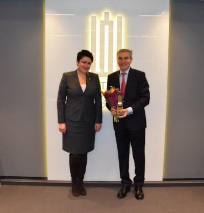 LSKL prezidentui Rimantui Cibauskui – LTOK medalis