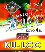 LSKL Mažosios taurės finale – dvi Klaipėdos ekipos