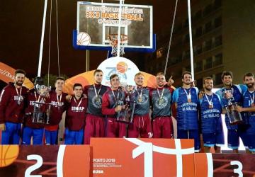 VDU studentai – Europos universitetų trijulių krepšinio čempionatai